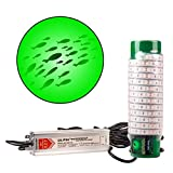 Green Blob Outdoors Underwater Fishing Light L7500/15000 with 30ft or 50ft 110 Volt AC Power Cord, Crappie, Snook, Fish Attractor (7500, 30ft Cord)