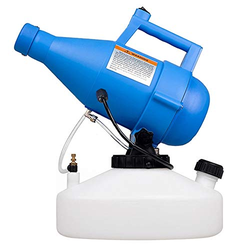 LONYEON 4.5L Electric Ulv Fogger Sprayer Machine,Handheld Atomizer 26-34ft Spray Distance Suitable for Indoor Outdoor School Hotel Office Home Courtyard