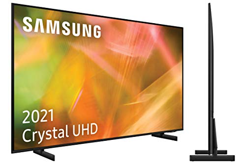 Samsung 4K UHD 2021 43AU8005- Smart TV de 43' con Resolución Crystal UHD, Procesador Crystal UHD, HDR10+, Motion Xcelerator, Contrast Enhancer y Alexa Integrada