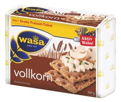 Wasa Knäckebrot Vollkorn 260g 5 x 260 g