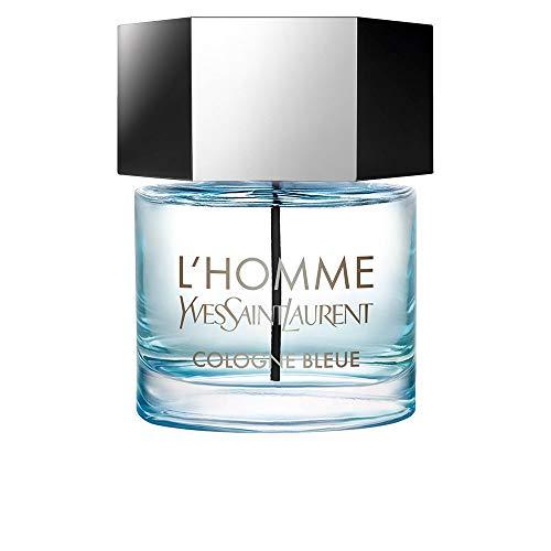 Yves Saint Laurent Homme Cologne Bleue für Herren By Eau de Toilette 2.0 Ounce / 60 Ml, 2 Fl Ounce, Mehrfarbig