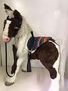 Party Ponies Butterscotch S'Mores Horse Interactive Saddle Set - Western Style -Horse not Included
