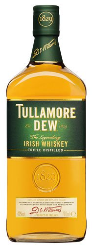 2x Tullamore Dew - Irish Whiskey, Triple distilled, Irland - 700ml