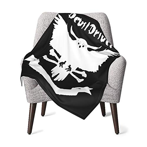 Ap.Room Devildriver Baby Blanket Unisex Wrap Soft Neutral Receiving Blanket for Boys and Girls, 30 X 40 Inches