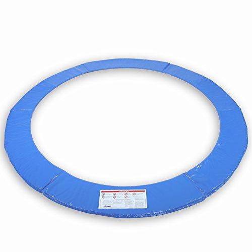 KIDUKU® Cubierta Protectora para Bordes de Cama elástica Cojín para resortes de trampolín 244 305 366 427 cm (244 cm)