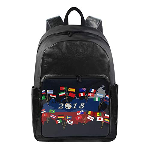 MALPLENA mochila Argentina Brasil de fútbol bolsa de viaje mochila de viaje liviana y plegable duradera para viajes y senderismo