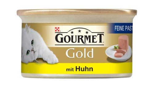 Gourmet Gold Feine Pastete mit Huhn85g Katzenfutter (24er Pack) von Purina