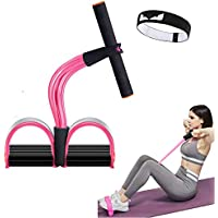 Calliven Multifunction 6-Tube Elastic Yoga Pedal Puller Resistance Band