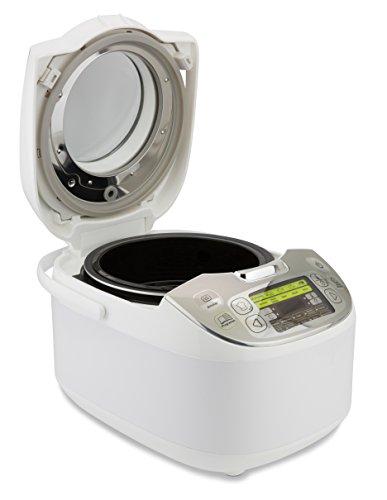 Moulinex Maxichef Advance MK812121 - Robot de cocina con 45 programas de cocción, capacidad 5 litros, programable hasta 24 horas, bol con capacidad hasta 4 personas, función diferido programable