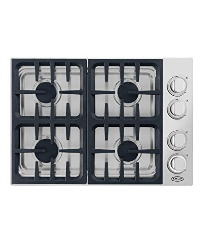 DCS CDV304N 30' Stainless Steel Gas Sealed Burner Cooktop -...