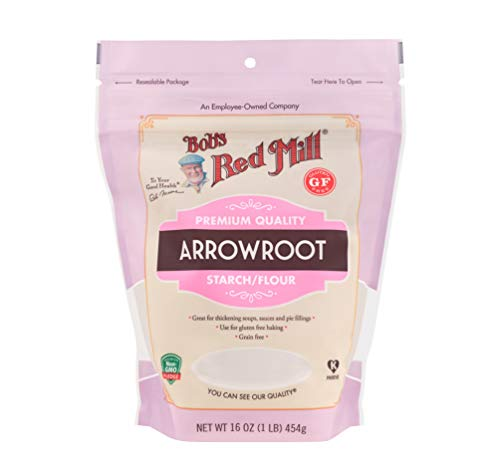 Bob's Red Mill Arrowroot Starch / Flour, 16 oz (453 g)