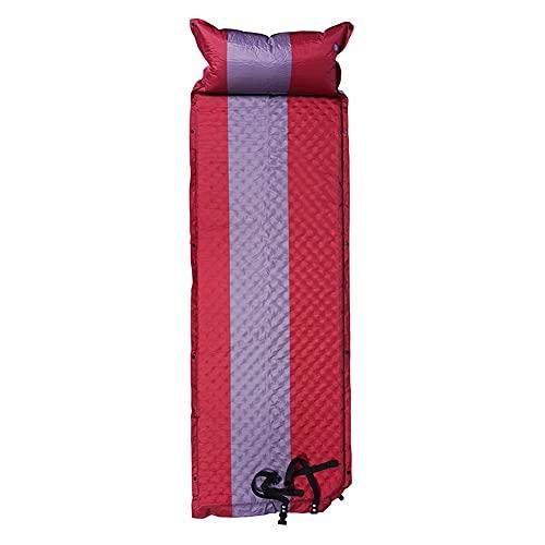 AOKUO Almohadilla de Dormir Acampada Inflable, Almohadilla de Dormir con Inflable Plegable autoinflable, colchón Inflable para Acampar Duradero, Adecuado para Camping al Aire Libre y Alpinismo