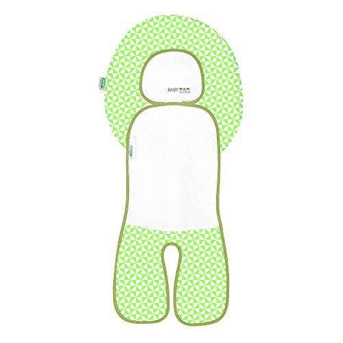 Odenwälder BabyNest Sommerauflage Babycool-Auflage mit Coolmax-Ausstattung für Autositz Gr.1 & Hochstuhl Made in Germany