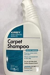 1 X Kirby 235406 Pet Owners Carpet Shampoo (946 ml, 32 U.S. fl oz.) - Use with Kirby Home Care System