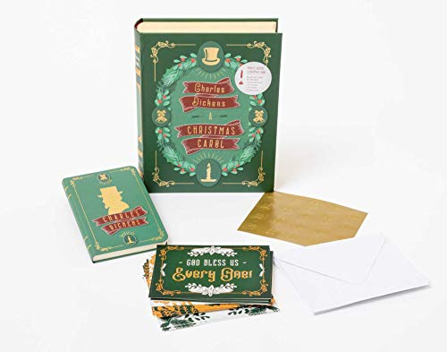 Charles Dickens: A Christmas Carol: Deluxe Note Card Set With Keepsake Book Box: Literary Sets