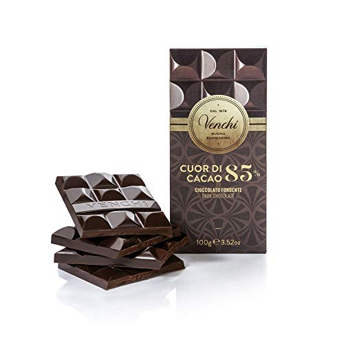 Tavoletta di Cioccolato Fondente 85% Cuor di Cacao 100g - Cioccolato Fondente Centro Sud America - Senza Glutine