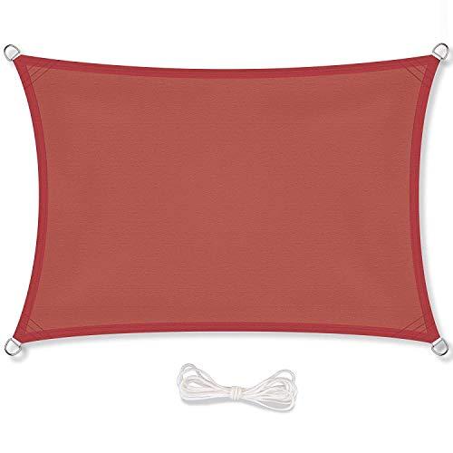 Kampre rechthoekige anti-uv-zonwerende doek