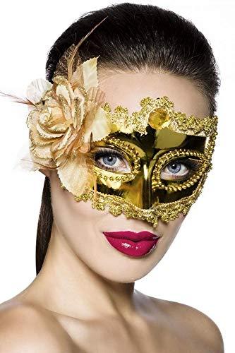 Atixo Masque pour les yeux sexy masque de venise-style - Or - Taille unique