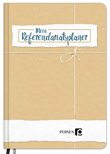 Mein Referendariatsplaner - Planer für Referendare, Hardcover, Monatskalender und Wochenplaner, Notizen, Geschenk für Referendare