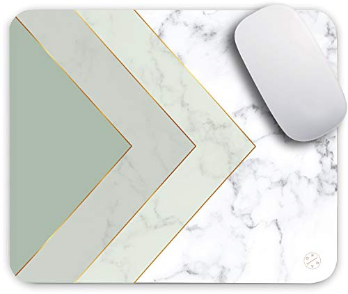 Oriday Gaming Mouse Pad Custom for Home and Office, Modern Gradation Design, Non-Slip Rubber Thick Mouse Pad for Computers Desktops, PC, Laptop (Mint...
