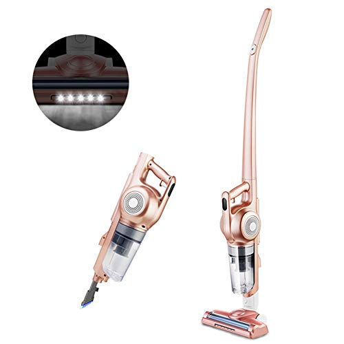 Review LFEWOX Cordless Vacuum Cleaner, 2 in 1 Lightweight Bagless Vacuum with 7Kpa Powerful Suction,...