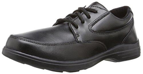 Hush Puppies Boy's TY Dress Shoe, Black, 6 Big Kid