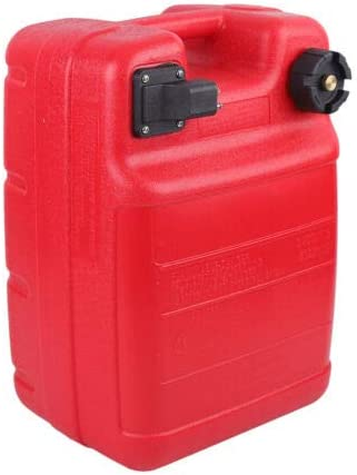 CNCEST Outboard Gas Cheap Tank with Boat Connector Plastic Today's only Portable Ga