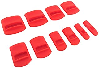 Taytools 101202 10 Piece Soft Silicone Chisel Edge Guard Set for Chisels 1/8 Inch to 1-1/4 Inches