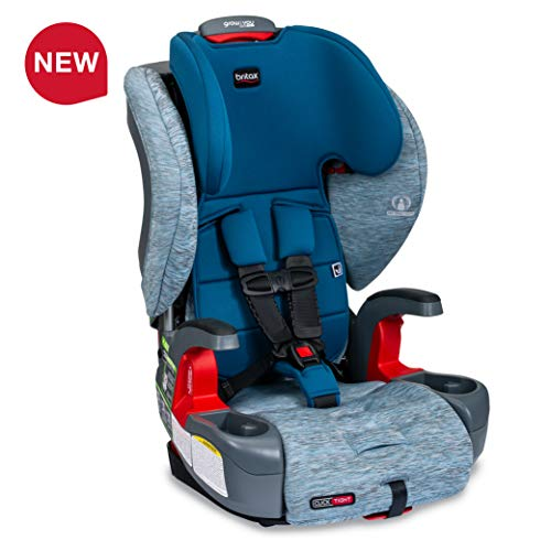 Best Buy! Britax USA Grow with You ClickTight Harness-2-Booster Car Seat - 2 Layer Impact Protection...