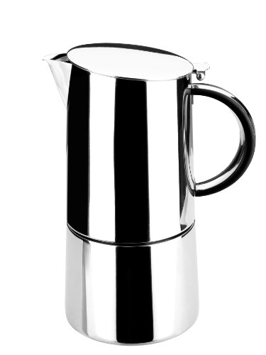 Lacor 62056 Cafetière Express Moka 6 Tasses 18/10 Inox