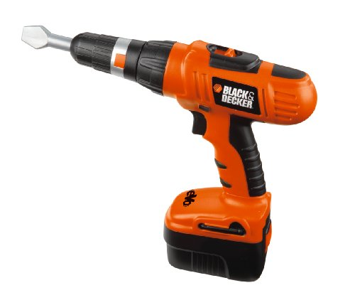 Smoby Black and Decker Screwdiver Kit