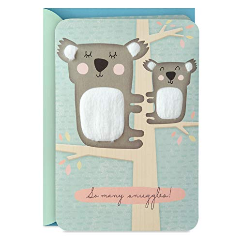 Hallmark Baby Shower Card (Koalas, So Many Snuggles)