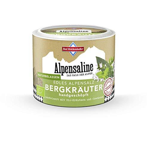 Bad Reichenhaller Alpensaline Edles Alpensalz Bergkräuter, 90 g