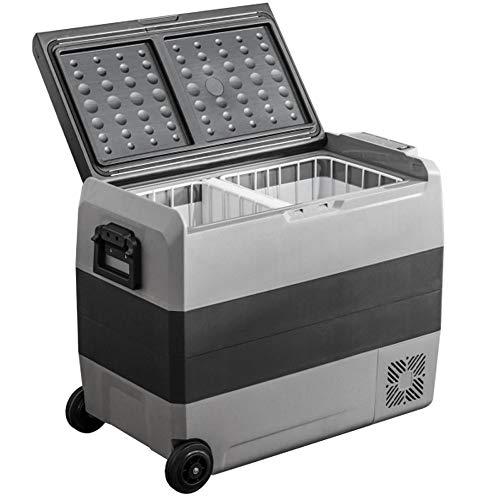 90GJ 50L COMPRESSOR COOL BOX - Portable Fridge Freezer Camping,24V/12V/220-240V Car Refrigerator, Car Cooler, for Travel Camping Picnics CAR Truck Home