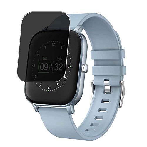 Vaxson TPU Pellicola Privacy, compatibile con YoYoFit p22 1.4' Smartwatch Smart Watch, Screen Protector Film Filtro Privacy [Non Vetro Temperato Cover Custodia ]