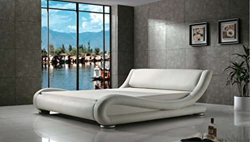 Greatime Contemporary Upholstered Bed