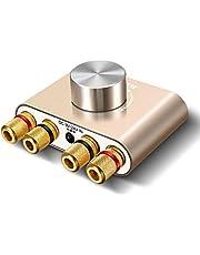 Bluetooth 5.0 アンプ ELEGIANT ステレオ スピーカー パワーアンプ デジタルアンプ ベース 増幅器 HI-FI 音質 100W 大出力 超小型