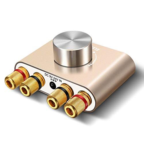 Bluetoothアンプ ELEGIANT ステレオ スピーカー パワーアンプ デジタルアンプ ベース 増幅器 HI-FI 音質 10...