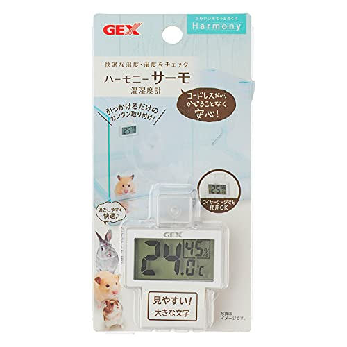 ジェックス ハーモニーサーモ 温湿度計 1個 (x 1)