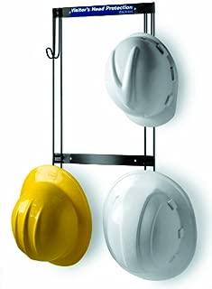 Horizon 5004 Heavy-Duty Steel Hard Hat/Coat and Fall Protection Rack, 14