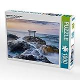 CALVENDO Puzzle Japanisches Torii am Meer 1000 Teile Lege-Grösse 64 x 48 cm Foto-Puzzle Bild Von Christopher Becke Jan