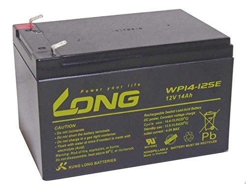 Batería compatible con motor eléctrico, motor fueraborda y barcos (12 V, 14...