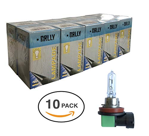 Melchioni Lampe 322399533 H8 12 V 35 W Pgj19 – 1-confezione de 10 unités, Lot de 10