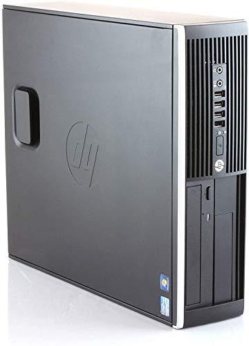 PC Hp Elite 8300 - Ordenador de sobremesa SFF (Intel Core i7-3770, 8GB de RAM, Disco HDD 500GB, Lector DVD, Win 10 Pro Upgrade) (Reacondicionado)