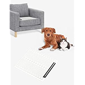 Cobito Scat Shock Mat for Dogs and Cats, Pet Electronic Training Pad, 22 X 16.5 inch, Couch Size, Keep Pets Off Furniture, Indoor Use for Sofa, Couch, Doorways.