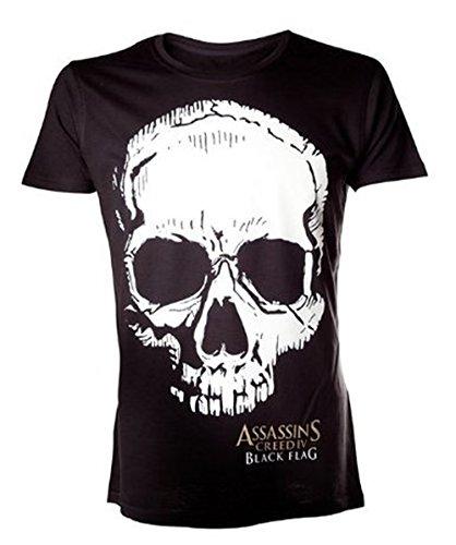 T-Shirt 'Assassin's Creed IV : Black Flag' - Flag Skull - Noir - M