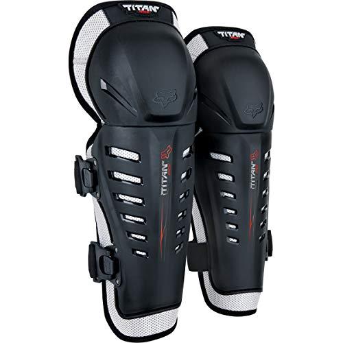 Fox Racing Unisex-Child Titan Race Motocross Knee/SHIN Guards,Black,One Size
