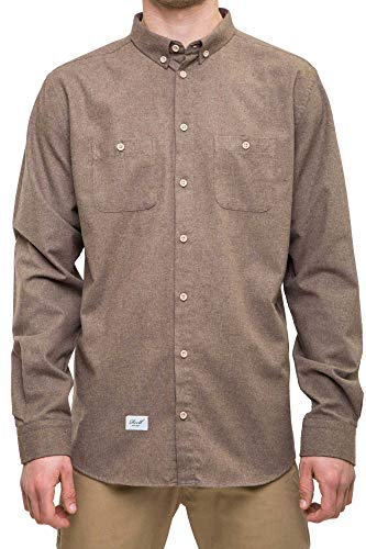 Reell Nordic Shirt, Brown L Artikel-Nr.1304-1047