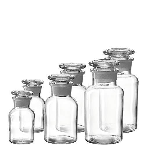 LEONARDO HOME 018723 CUCINA Gewürzfläschchen 6-teilig, Glas