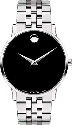 Movado Reloj Analógico para Hombre de Cuarzo con Correa en Acero Inoxidable 0607199